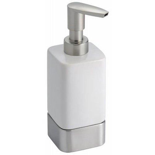 InterDesign Ceramic Dispenser Bathroom Countertops