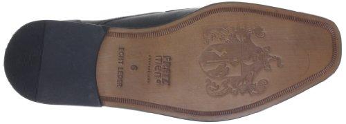 FRETZ men stringate Nevada 9862 Noir basse Schwarz Scarpe 1912 51 Nero uomo 51 UUdfrRnx4