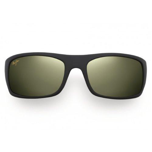 Maui Jim Unisex Peahi Matte Black/Maui HT - Maui Jim Sunglasses Peahi