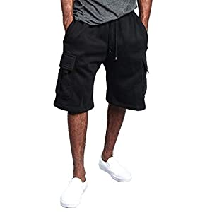 FRAUIT Pantaloni da Lavoro Uomo Corti Estivo Bermuda Uomini Tasconi Cargo Pantaloncino Ragazzo Fitness Pantaloncini… 11 spesavip