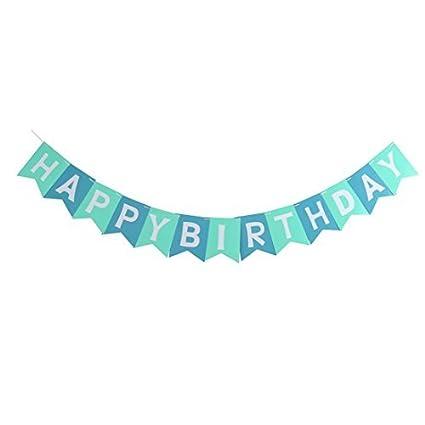 Amazoncom Edealmax Papier Happy Birthday Lettre Imprimer