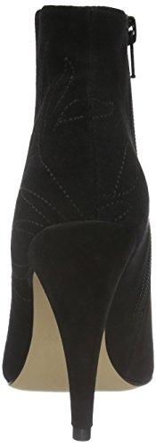 Aldo 47073637, Botas Cortas de Tacón Mujer Negro (Black Suede/91)