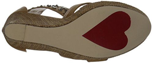 Luichiny Wedge Sandal Dee Min Tan Women's rxBCRr