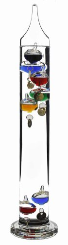 G.W. Schleidt SH271 Galileo Thermometer 15-Inch Multicolored