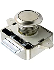 siwetg Camper Car Push Lock RV Caravan Boot Motor Home Kabinet Drawer Latch Button Locks voor Meubelhardware