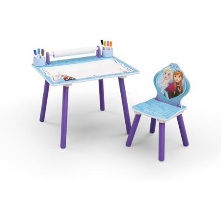 Fun Delta Children Disney Frozen Art Desk by Delta