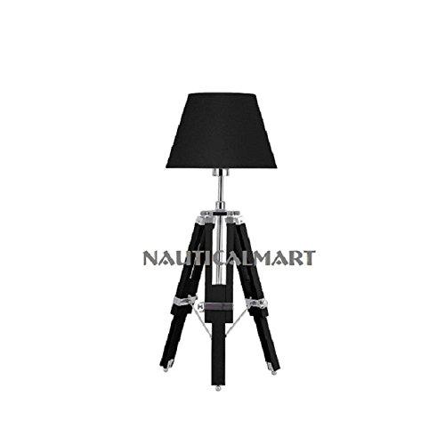 NauticalMart Marine Designer Royal Tripod Table Lamp