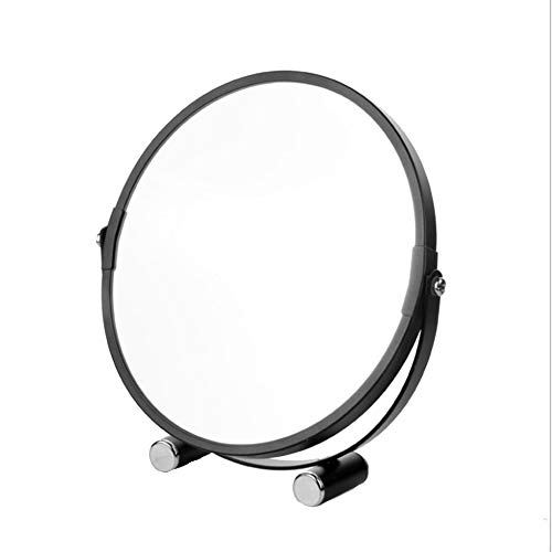 Tabletop Vanity Makeup Mirror Two-Sided 3X Magnifying Swivel Cosmetic Mirror, 10-Inch Height Definition Magnification ()