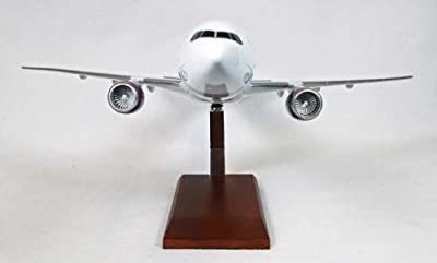 B777-200 Delta Quality Desktop Model Commercial Plane 1/100 Scale / Unique and Perfect Gift Idea / Museum Quality Handcrafted Wide Body Commercial Jet Aircraft Replica Display / Collectible Gift Toy