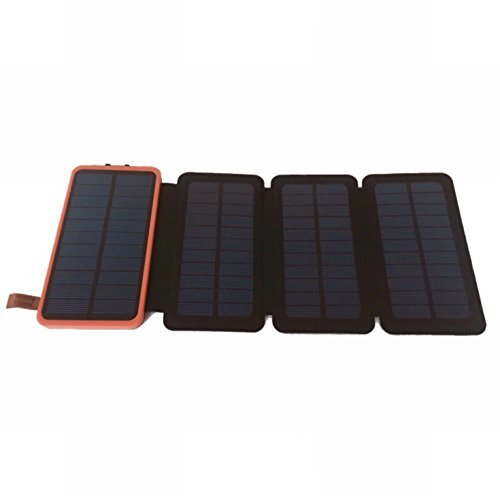 MEMO CS PORTABLE SOLAR CHARGER. 12000 Mah, 4 solar panels. Best for outdoor!