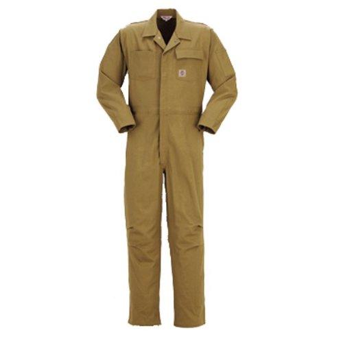 PERSON'S (パーソンズ)長袖つなぎ ツナギ おしゃれアメリカンスタイル 親子ペアyt-p017 B01NAZCOQX 4L|カーキ