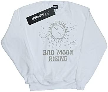 Absolute Cult Creedence Clearwater Revival Herren Bad Moon Rising Sweatshirt Weiß XXXXX-Large