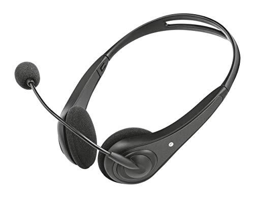 🥇 Trust InSonic – Auriculares con Micrófono para PC