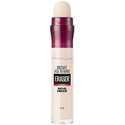 Maybelline Instant Age Rewind Eraser Dark Circles Treatment Multi-Use Concealer, Fair, 0.2 Fl Oz (Pack of 1)