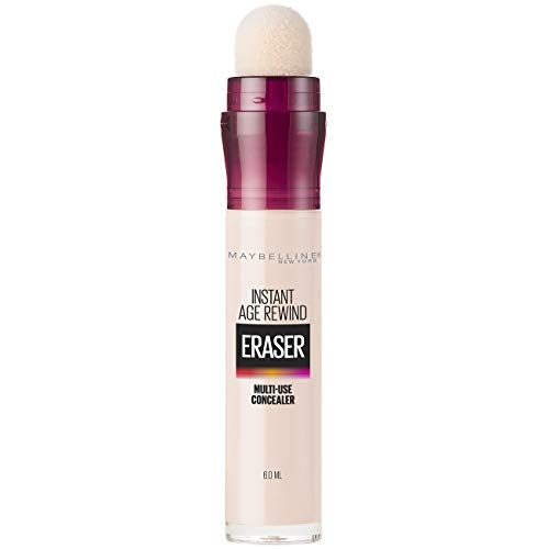 Maybelline Instant Age Rewind Eraser Dark Circles Treatment Multi-Use Concealer, Fair, 0.2 Fl Oz (Pack of one)
