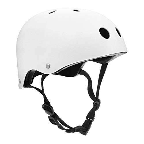 Giho Kids/Adult Skateboard Helmet with Removable Liner for Skate, Scooter, Skateboarding, Roller Skate, Climbing, Longboard, Inline Skating, BMX, Bike, Cycling, Skiing Adjustable Straps Multi Color ()