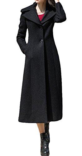 Femme Plaer Manteau Manteau Blouson Noir Plaer WIq08R