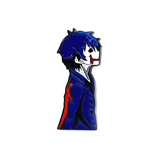 Bloody Painter Japanese Anime Horror Creepypasta Pendant Lapel Hat Pin ()