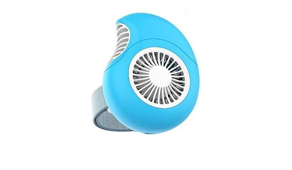 Happy Roam Convenient Convenient Fashion USB Folding Small Fan Rotatable Desktop Fan Mini Rechargeable Handheld Portable Fan Fashion Color : Pink