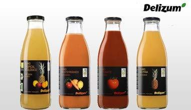 Zumo de zanahoria ECOLOGICO botella 1l: Amazon.es: Alimentación y bebidas
