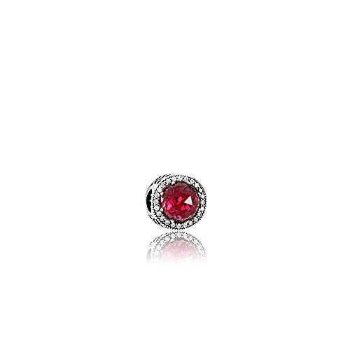 Pandora Cerise Radiant Hearts Silver & Pink Charm 791725NCC