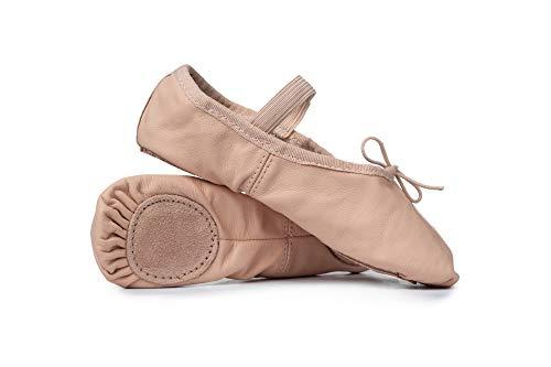 Adult Leather Split-Sole Ballet Shoes T2700PNK06.0M Pink 6 M US