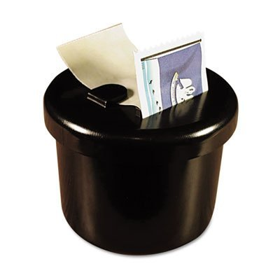 Ultimate Stamp Dispenser, One 100 Count Roll, Black, Plastic, 2'''' Dia. X 1 11/16, Sold as 1 Each by LEE