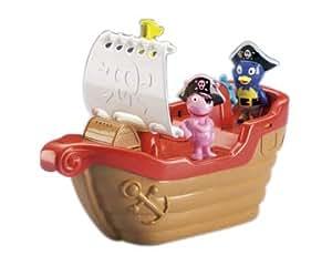 Amazon Com Fisher Price Backyardigans Pirate Tub Time