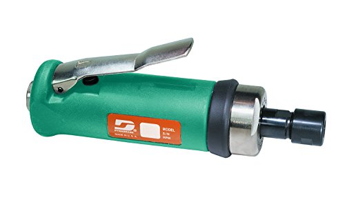 Dynabrade 52258 Straight-Line Die Grinder, 20000 RPM, Front Exhaust, 1/4-Inch Collet by Dynabrade