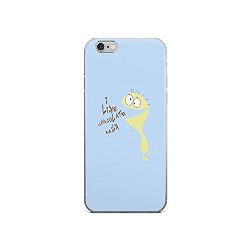 iPhone 6 Case iPhone 6s Case Clear Anti-Scratch I Like Chocolate Milk, Cheese Cover Phone Cases for iPhone 6/iPhone 6s, Crystal Clear