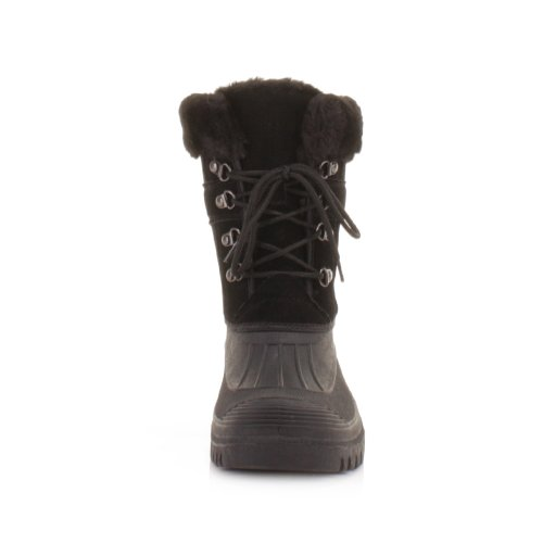 Up Lace Yard Black Fleece Mucker Womens Outdoor Boots q7w656S