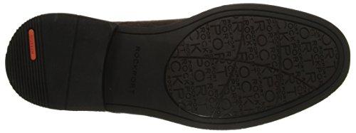 Escarpins Rockport Pour Homme Classique À Bout Uni Oxford Sarouel Chocolat Noir Amère