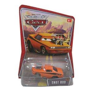 スノット・ロッド(オレンジ×ブラック) 「カーズ」 キャラクターカー10 M1257の商品画像