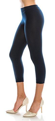 Basic Capri Leggings - 5