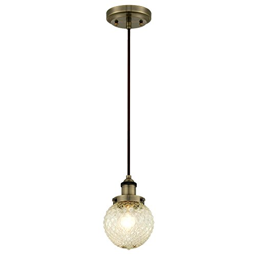 Cut Glass Pendant Light