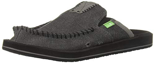 Discount Specialty Sports - Sanuk Men's You Got My Back II Slip On , Charcoal ,9 M US