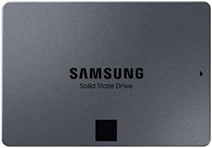 Samsung 860 QVO SSD 2TB - 2.5 Inch SATA 3 Internal Solid State Drive with V-NAND Technology (MZ-76Q2T0B/AM)