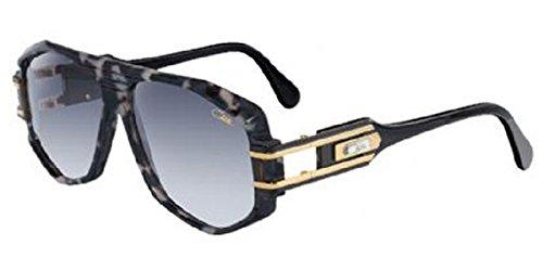 Cazal 163 090SG Black Grey Camouflage Grey Gradient Sunglasses 59 mm (Cazal 163)