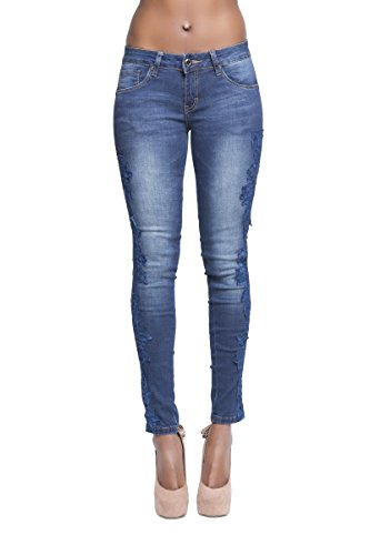 Lustychic - Jeans Donna Blue