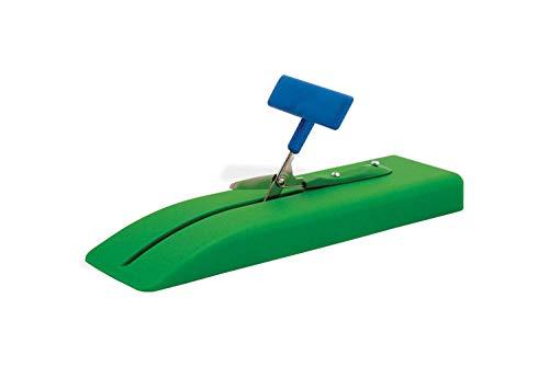 (Peta-UK Table Top Scissors - Plastic Base, 45mm Round Blade (1 Unit) )