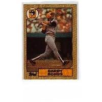 Tarjeta de béisbol Barry Bonds Rookie 1987 Topps No.320