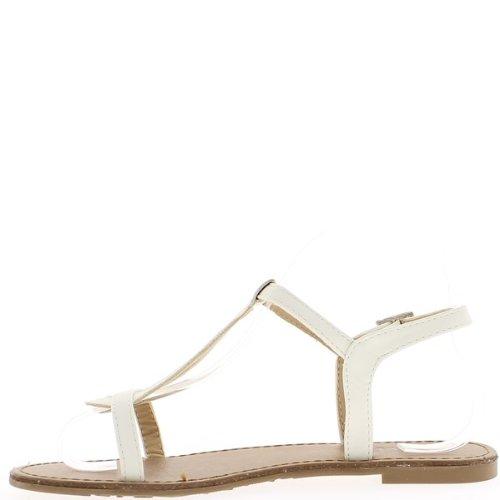 A piedi nudi donna bianca a twill tape 1 cm.