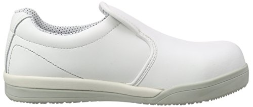 Sanita San-Chef Slipper-S2 - Calzado de Protección Unisex Adulto, Blanco (White 1), 41 UE