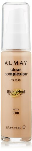 Almay Clear Complexion Liquid Makeup, Warm, 700, 1 Fluid Ounce by Almay