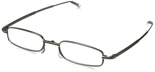 Peepers Men's Periscope Rectangular Reading Glasses - Sil...