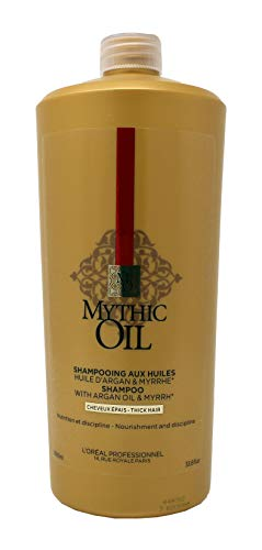 L'Oreal Professionnel Mythic Oil Shampoo with Argan Oil & Myrrh (Thick Hair) 1000ml/33.8oz