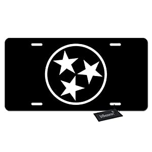 sparkling license plate frame
