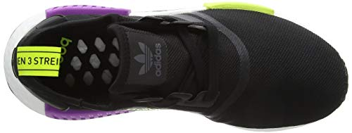 Core Core r1 Eu adidas Purple Black Bianco Black Herren Shock NMD Schwarz Derbys wXzz40qx