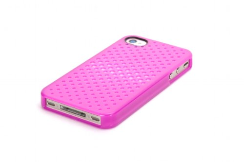 Griffin GB03171 iClear Air for iPhone 4 - 1 Pack - Retail Packaging - Azalia ()
