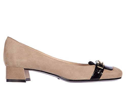 tods-womens-suede-pumps-court-shoes-high-heel-clamp-beige-us-size-10-xxw0vq0m430rtu0ah6